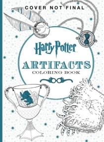 HARRY POTTER MAGICAL ARTEFACTS COLOURING