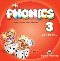 MY PHONICS 3 CLASS CD (SET OF 2) (INT)