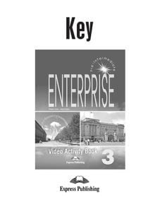 ENTERPRISE 3 PRE-INTERM VIDEO ACT BK KEY