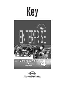 Enterprise 4 Intermediate Dvd Activity Book Key
