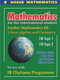 MATHS FOR INTERNATIONAL STUDENT: FURTHER