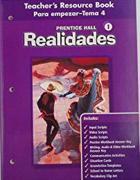 REALIDADES 1 ASSESSMENT PROGRAM
