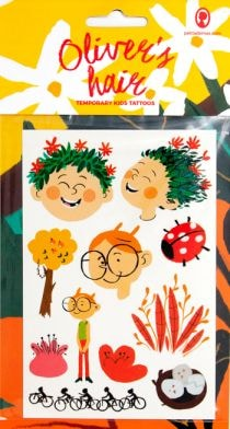 OLIVERS HAIR TEMPORARY KIDS TATTOOS