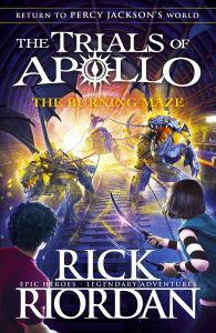BURNING MAZE (TRIALS OF APOLLO BOOK 3)