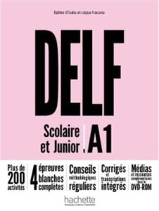 DELF SCOLAIRE & JUNIOR A1 METHODE (+DVD-