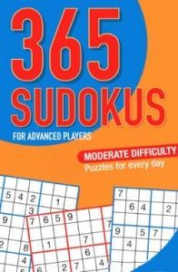 365 SUDOKUS - FOR ADVANCED PLAYERS (NGV1
