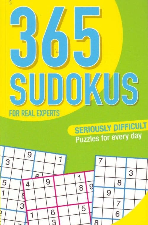 365 SUDOKUS - FOR REAL EXPERTS (NGV12)