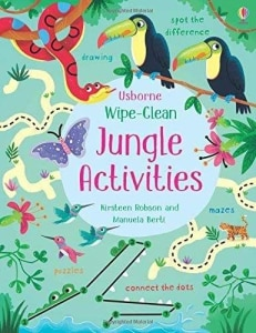 WIPE CLEAN JUNGLE ACTIVITIES