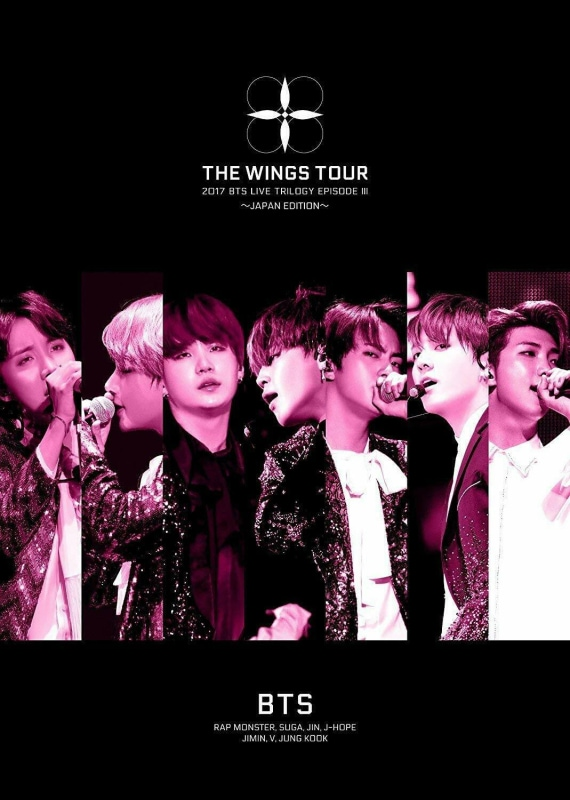 BTS Bangtan Boys LIVE TRILOGY EPISODE III THE WINGS TOUR JAPAN First Ed Blu-ray