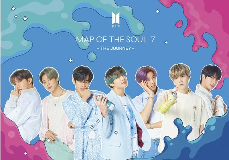 MAP OF THE SOUL: 7 THE JOURNEY (VERSION