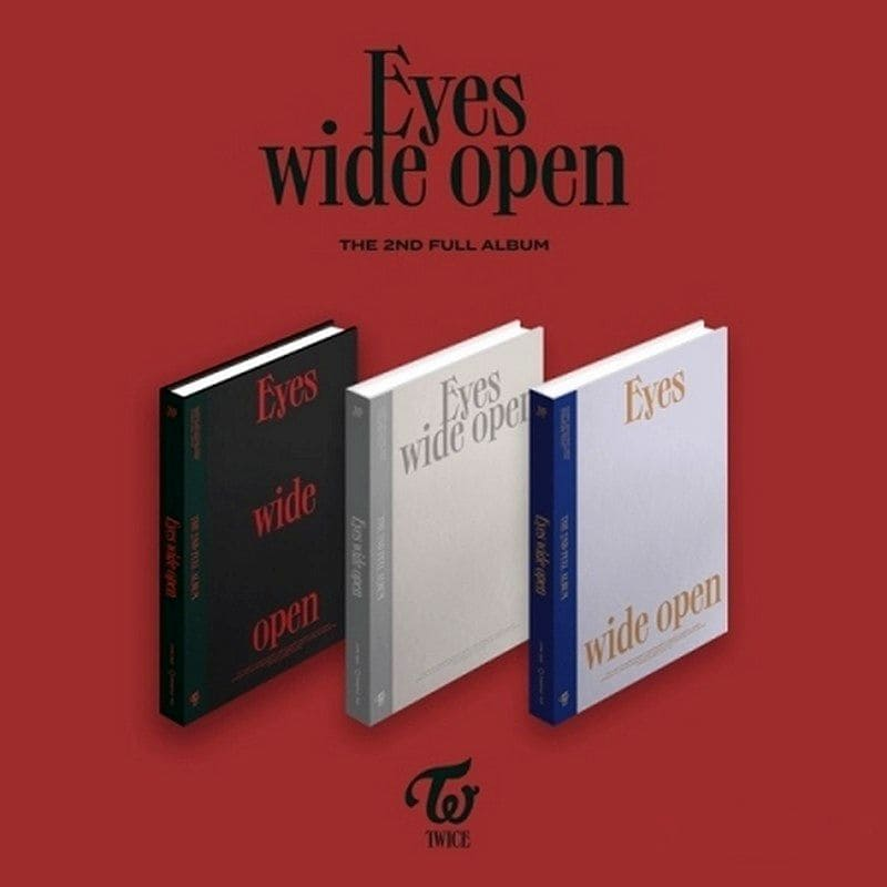 TWICE VOL 2 EYES WIDE OPEN (3 VERSIONS R