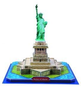 3D Παζλ Statue of Liberty New York (39 Κομμάτια)