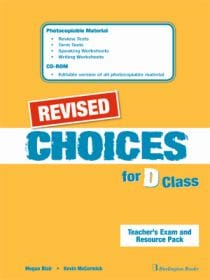 Choices D Class Teachers Book