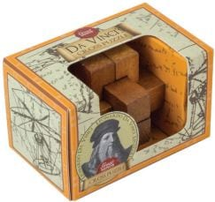 Γρίφος Great Minds Mini Puzzle Da Vinci's Cross
