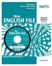 New English File Workbook with Multi-ROM Pack Advanced level
