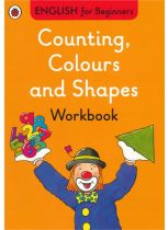 COUNTING, COLOURS AND SHAPES WORKBOOK: E