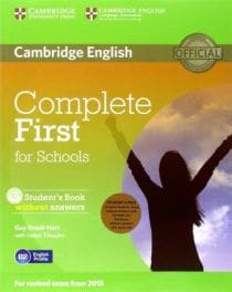 COMPLETE FCE FOR SCHOOLS SB PACK (+ WB +