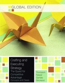 crafting and executing strategy pdf