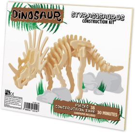 Ξύλινη κατασκευή Dinosaur Construction Kit Styracosaurus
