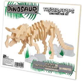 Ξύλινη κατασκευή Dinosaur Construction Kit Triceratops