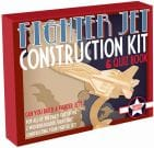 Ξύλινη Κατασκευή Fighter Jet Construction Kit & Quiz Book