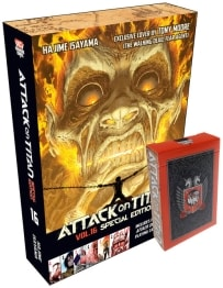 ATTACK ON TITAN 16 WITH PLAYING CARDS