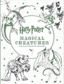 HARRY POTTER MAGICAL CREATURES COLOURING