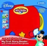 My First Story Reader 3 Book Box And Reader Mickey Mouse Clubhouse